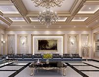 luxury golden interior