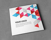Business Colorful Square Trifold