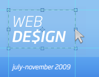 Web Design // July-November 2009