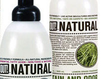 OUT! Naturals Brand Packaging