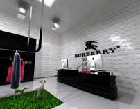 INTERIOR Design - Burberry Store