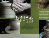 Heritage Hands (A Photojournalism Project)
