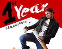 1st Year #SmokeFree