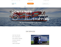 Sea container shipping