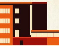 ARQUITECTURA MODERNA / Proyecto Ilustración