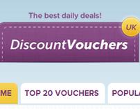 UK Discount Vouchers - discount coupon code website