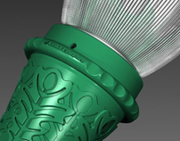 Niland - Oak Leaf Utility Luminaire