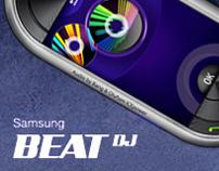 Samsung  BeatDJ banner