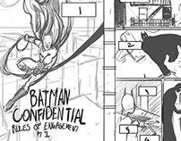 Sequential Art Project: Batman Confidential Storyboards