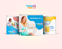 Baby Kids Store - Redes Sociales
