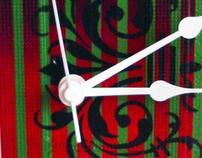 vhs clock