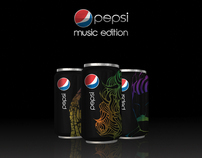 Packaging Gama Especial - Pepsi Music Edition