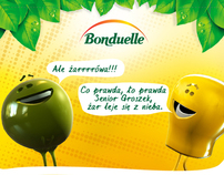 Bonduelle - Przebojowe sałatki | komiksy FB