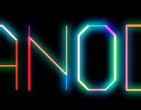 ANODINE (free AE animated typeface)