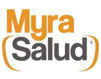 Myra Salud, Identidad Corporativa y web site