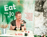 """EAT WITH JO""   My First Cookbook Out 6th May 2012"
