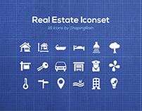 Freebie Real Estate Iconset