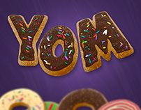 Donut Text Creator - 300 DPI