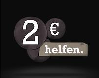2 Euro helfen