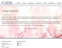 Icaria´s web Background