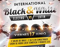 Banner International Black & White - Interchange Perú