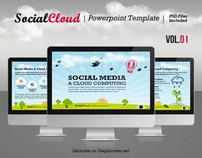 SocialCloud Powerpoint Template V.01