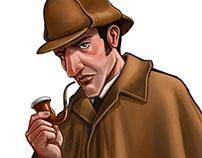 Holmes - Sherlock & Mycroft Card Game