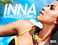 INNA / Teatro La Cúpula / Chile
