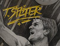 Tiago Splitter | Homage Poster