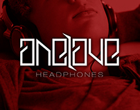 One love Headphones Branding / Stand