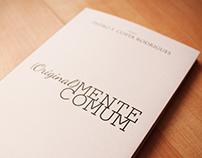 Book Cover | Original(mente) Comum