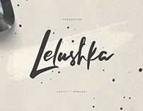 Lelushka Script + Ink marks