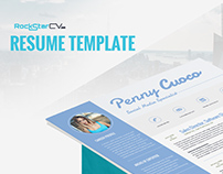 Resume Template Cassiopeia