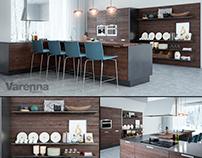 Poliform Kitchen modeling and visualisation