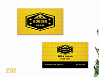 Free Creative Chef Business Card Template