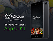Delicious l Resturant App - UI KIT