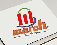 march logo design