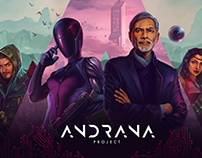 Andrana Project | Art Direction & Web development