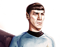 A Tribute to Mr. Spock