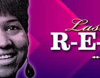 Aretha Franklin Digital Billboard Tribute