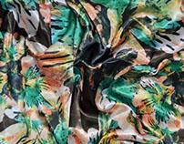Projeto Estampa Floral - Inflorescência