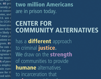 Center for Community Alternatives Brochure