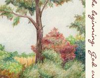 Colored Pencil Landscape—Undergrad