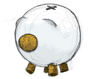 Gorrinucha Piggy Bank