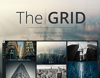 The GRID - Premium Tumblr Theme