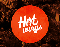 Hot Wings Logo Re-Design