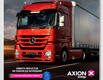 Axion energy. POP material.