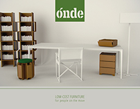 ÓNDE  |  low-cost furniture for people on the move