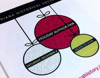 Holiday Author Fair identity
