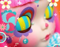 CaramelPOPS Custom Blythe  -  Lola Lollipop